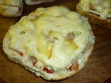 Thunfischpizza-Semmel - Rezept