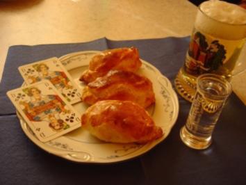 Blätterteig-Täschchen für den Kartenspielabend... - Rezept