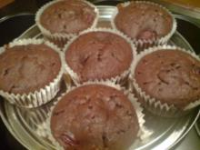"""Muffins """"Schoko-Kirsch"""" - Rezept"""