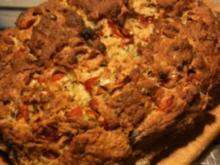 Tomaten-Basilikum-Brot - Rezept