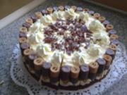 Röllchen Torte - Rezept