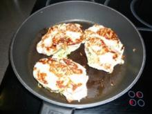 gefüllte Hähnchenbrust mit Zuccini und Käse - Rezept