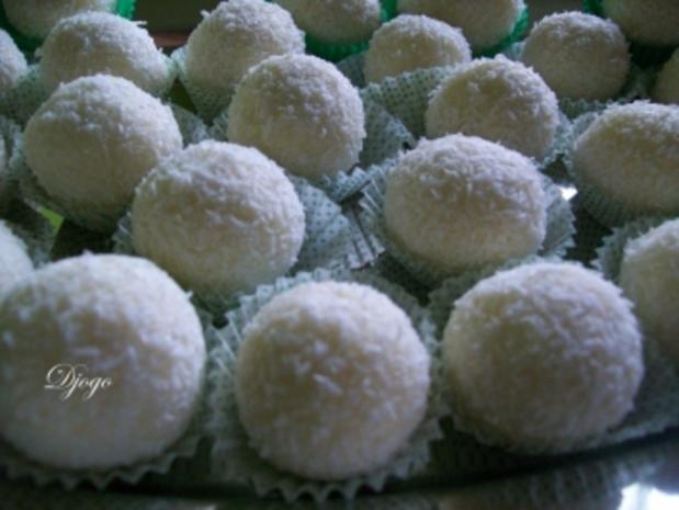 Kokos Pralinen - Rezept