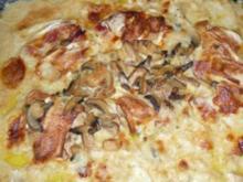 Putenschnitzel - Auflauf mit Camembert überbacken.... - Rezept