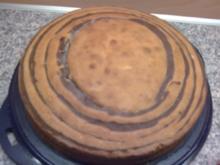 Marzipan-Zebrakuchen - Rezept