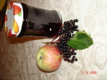 Holunder Apfel Gelee - Rezept