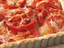 Tomaten-Käse-Tarte - Rezept