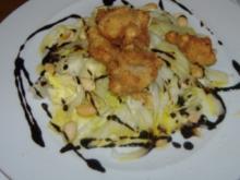 ( Galicien ) Ensalada con  ostras fritas - Rezept