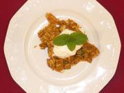 Mexikanisches Reisfleisch mit Ananas und Sahne - Rezept