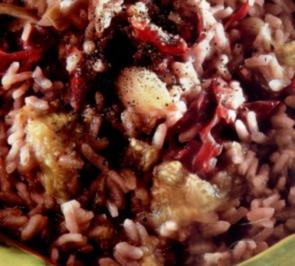 erster gang risotto alla pancetta affumicata - Rezept