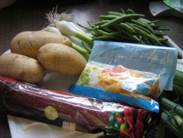 Kartoffel-Bohnen-Pfanne mit Chorizo - Rezept - Bild Nr. 3