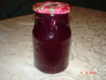 Ananas , Nektarine , Weintraube und Birnen Gelee - Rezept