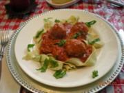 Spaghetti with Meatballs - Rezept