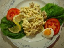 Eiersalat mit Bacon und Pfifferlingen... - Rezept