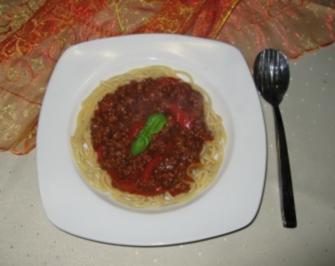 Spagetti - Rezept
