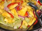 Malaiische Ananas Salat (Acar Nenas) - Rezept