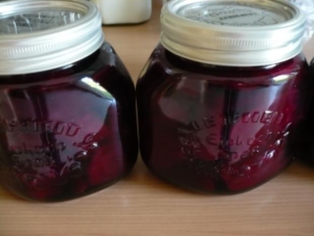 Rote Bete süßsauer - Rezept