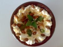 ** Dessert & Süßes ** Zimtjoghurt mit Honig und frischer Minze - Rezept