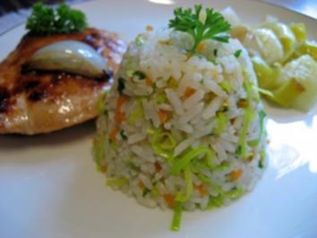 Bunter Butter-Reis - Rezept
