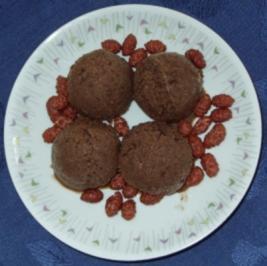 Eis - Bananen-Erdbeer-Schoko-Eis - Rezept