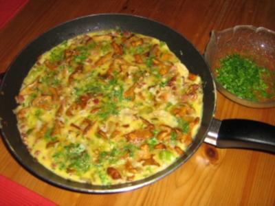 Pfifferling-Omelett - Rezept