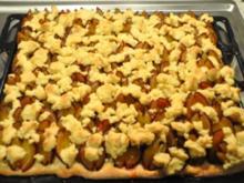 Pflaumenkuchen vom Blech - Rezept