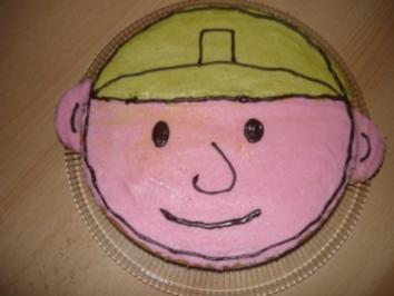 Bob der Baumeister Kuchen - Rezept