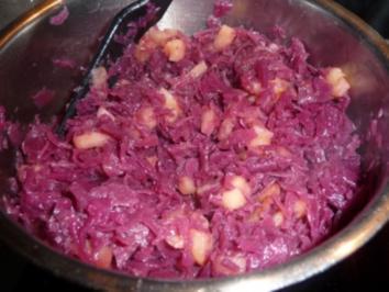 Apfel-Rotkohl - Rezept