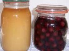 Obst Einkochen - Rezept