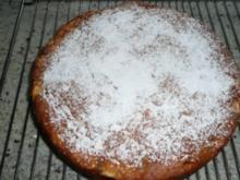 Rührteig Apfelkuchen mit Schoko - Rezept
