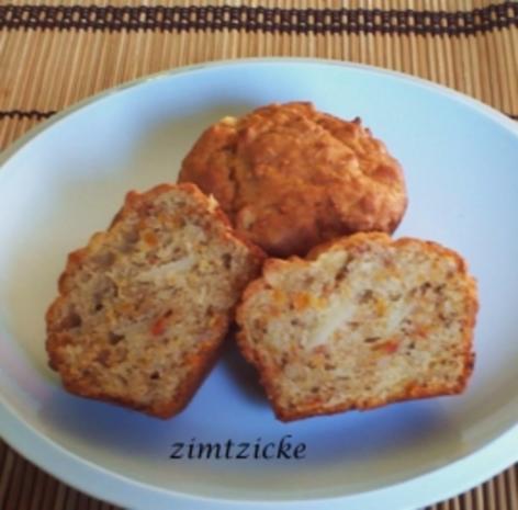 Pumpkin-Nut-Muffins - Rezept