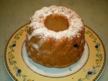 Lothar`s Kuchen die I I. Rosinenguglhupf - Rezept