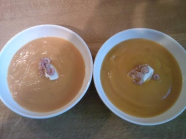 Butternuskürbis-Suppe - Rezept