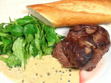 Steaks mit grüner Pfeffersauce - Rezept - Bild Nr. 2