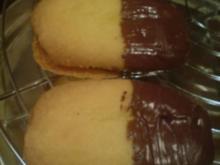 Kekse / Plätzchen - Nougat-Vanille-Plätzchen - Rezept