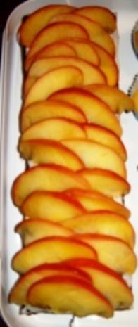 Apfelmuskuchen - Rezept