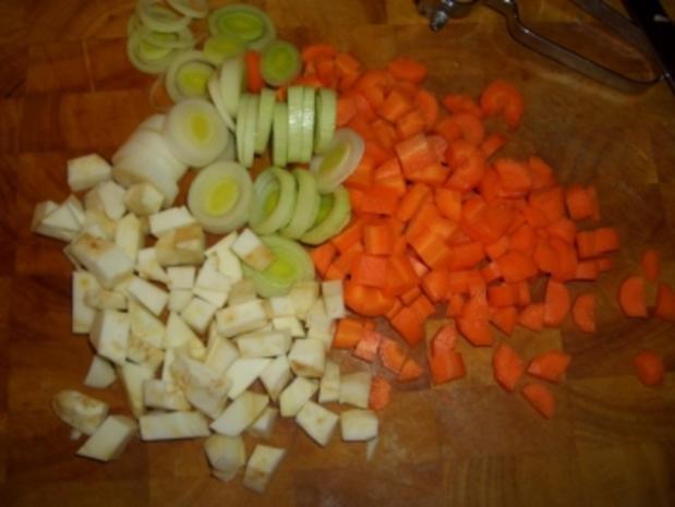 Erbsensuppe mit Würstel - Rezept - Bild Nr. 4
