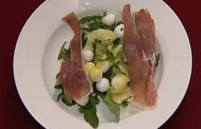 Rucolasalat mit Mango und Mozzarella (Ulli Potofski) - Rezept