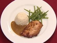 Kreolische Hühnerbrust mit Senf-Sojasoße (Ulli Potofski) - Rezept