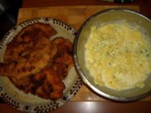 Schnitzel mit Kartoffelsalat - Rezept