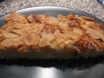 Blitz-Butter-Kuchen mit Mandeln - Rezept
