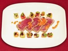 Tunfisch küsst Melone (Margarethe Schreinemakers) - Rezept