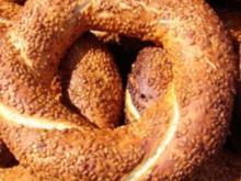Sesamringe - Simit (türkisch) - Rezept