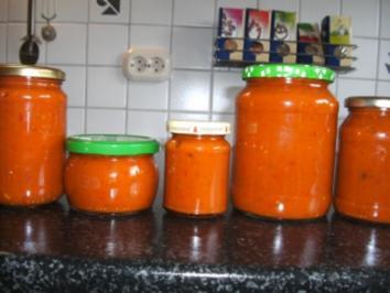 Rezept: Ajvar - deftig scharfes Paprikamus