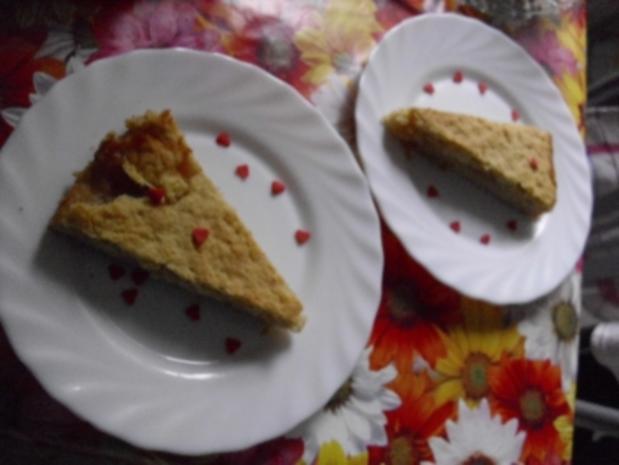 lecker Kuchen mit Apfelmus - Rezept