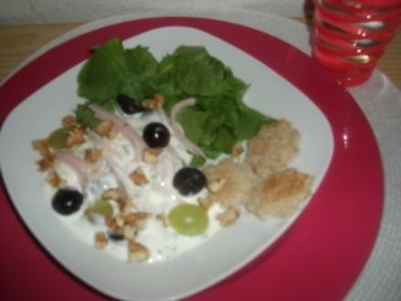 Puten-Trauben-Salat - Rezept