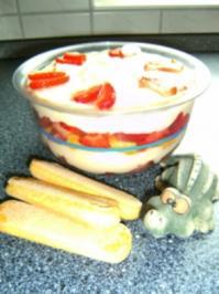 Erdbeer-Trifle - Rezept