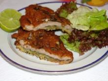 Kalbschnitzel im Kürbiskern Panade - Rezept