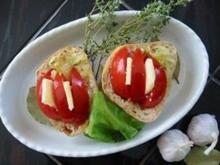 Tomatentörtchen - Rezept