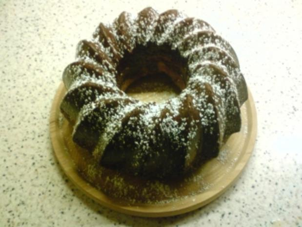 Schoko/Zitronen-Marmorkuchen - Rezept - Bild Nr. 2